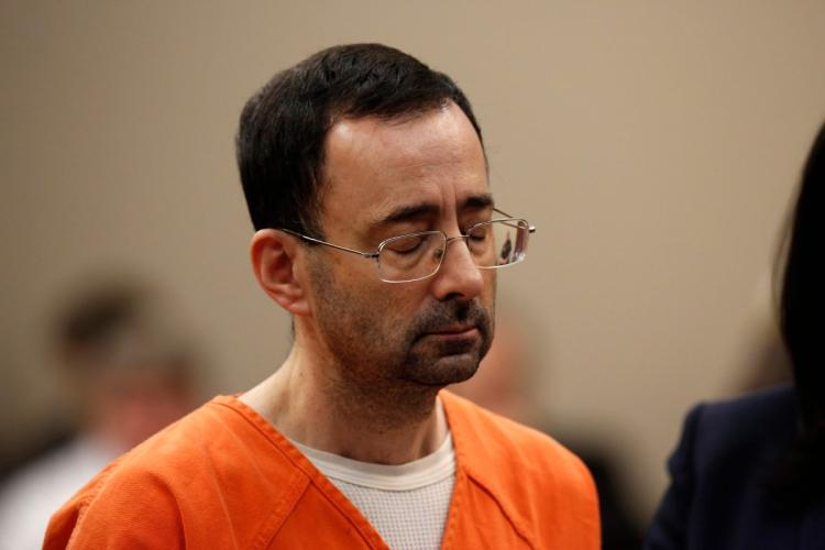 Larry Nassar (NY Daily News: JEFF KOWALSKY/AFP/GETTY IMAGES